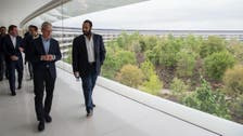 Saudi Crown Prince talks joint projects with Apple's Tim Cook in Silicon Valley