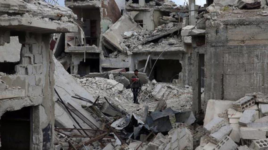 بمباران شدید شهر دوما توسط جنگندههای اسد؛ جیشالاسلام به گفتوگو ادامه میدهد