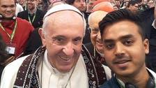 Pakistani in viral pope selfie speaks of 'heartache' for minorities