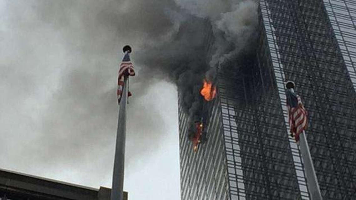 حريق برج ترمب