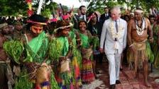 بالصور.. هكذا استقبل سكان جزيرة فانواتو الأمير تشارلز