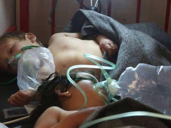 100 قتيل في دوما.. نظام الأسد ينفذ مجزرة كيمياوية