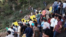 30 dead, mostly children, as India school bus falls off cliff