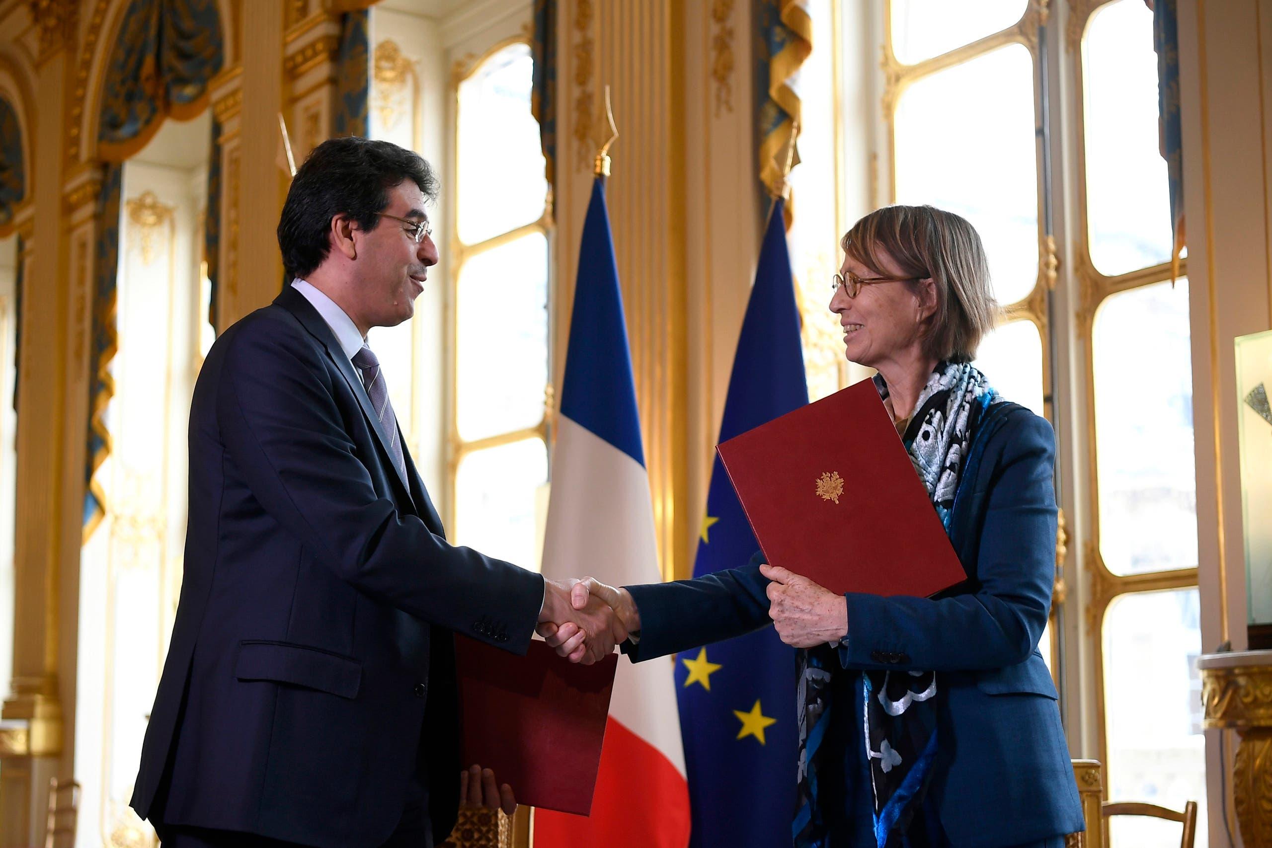 توقيع اتفاقية بين السعودية وفرنسا