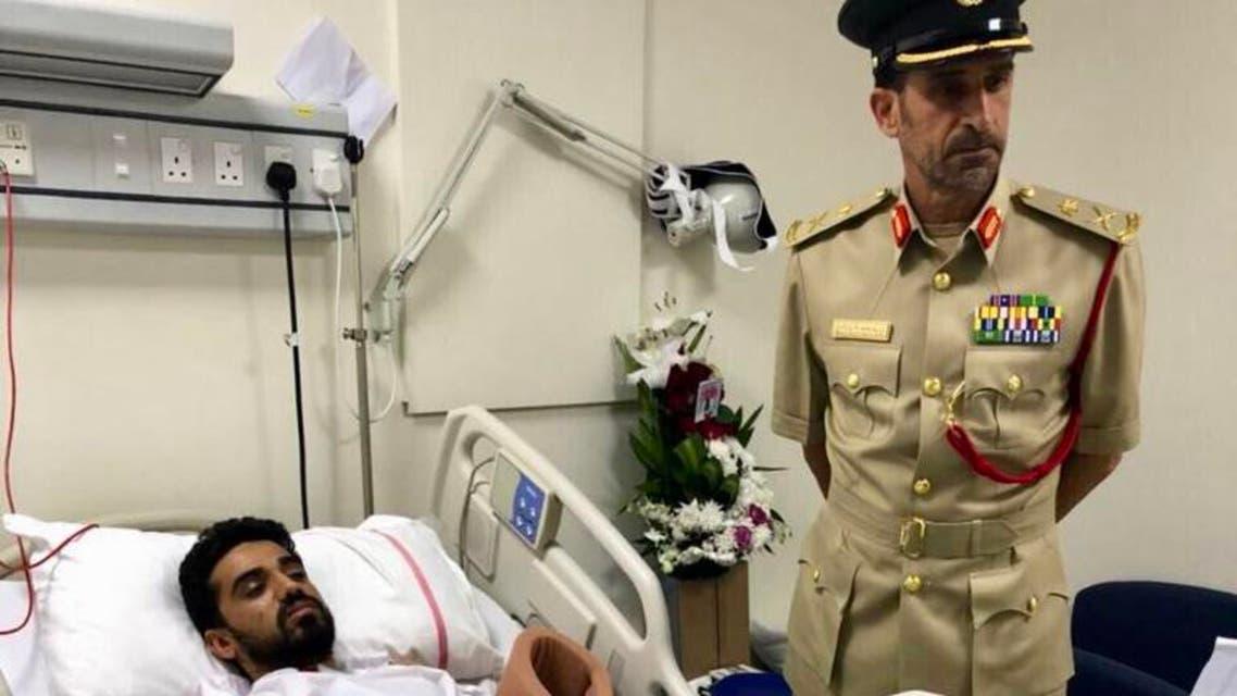 dubai police. (Dubai police)f