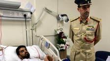 Dubai policeman helping woman with broken down car gets run over by motorist