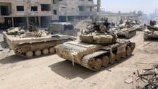 شام میں مسلح باغیوں اور یرغمالیوں کا انخلاء شروع