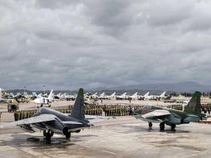 روسيا تنسحب من مطار تيفور خشية الغارات الإسرائيلية
