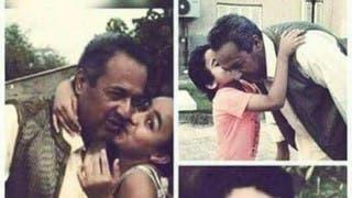 الأب الليبي في صورة سابقه مع أولاده المقتولين