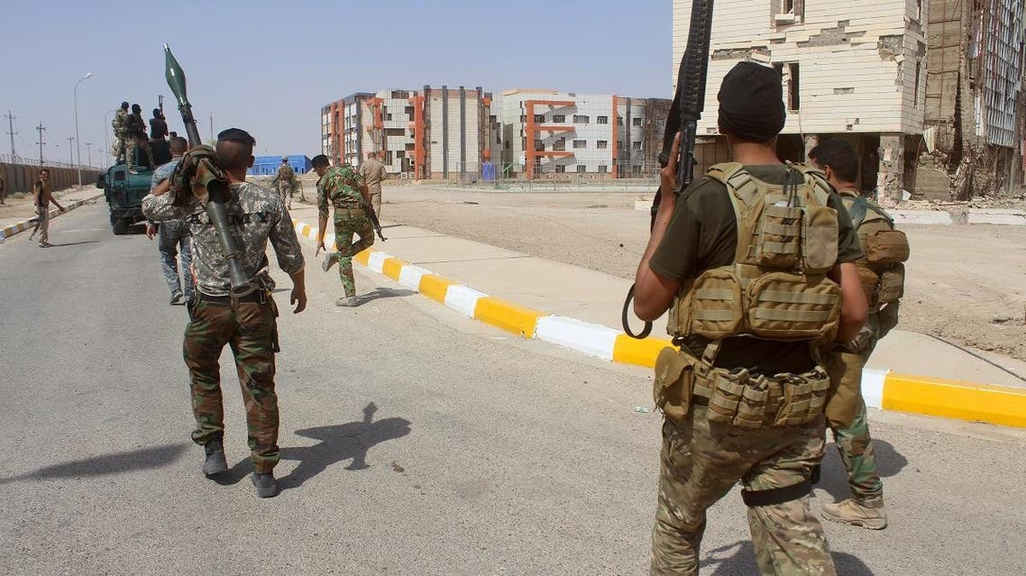 Iraqi pro-government forces patrol the city of Ramadi, west of Baghdad. (File photo: AFP)