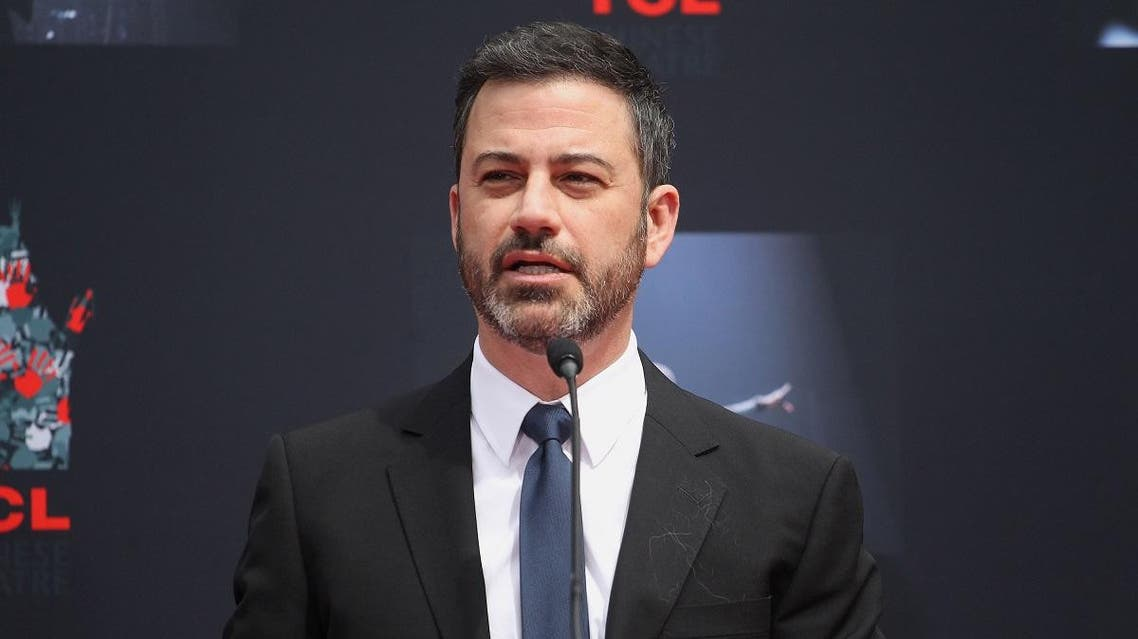 Jimmy Kimmel attends the Lionel Richie Hand And Footprint Ceremony at TCL Chinese Theatre. (AFP)