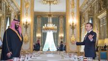 Macron invites Lebanon PM Hariri to meeting, dinner with Saudi Crown Prince