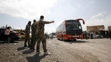 Thousands leave Syria's Douma as evacuations wrapping up