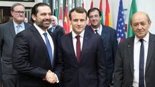 Lebanon's PM-designate Hariri to Macron: Your initiative will not be abandoned