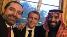 Another Saad Hariri tweet features Macron, Saudi Crown Prince