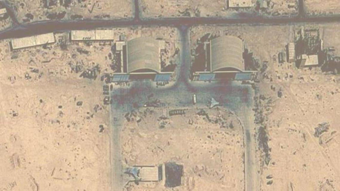 صور بالأقمار الاصطناعية لمطار التيفور سوريا