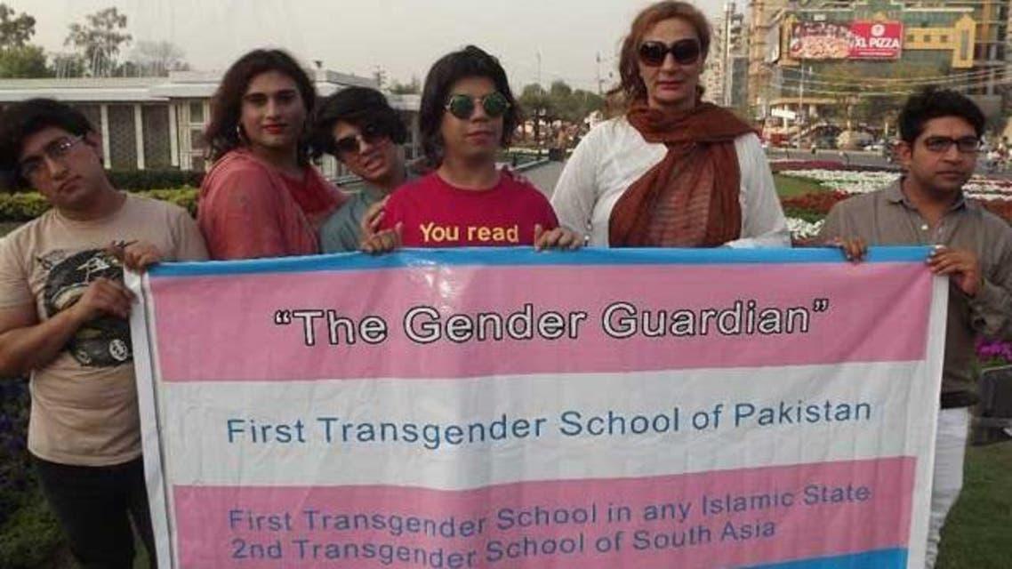 trans Gender guarding school in Pakistan