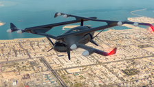 VIDEO: The 'flying taxi' that promises to give you wings