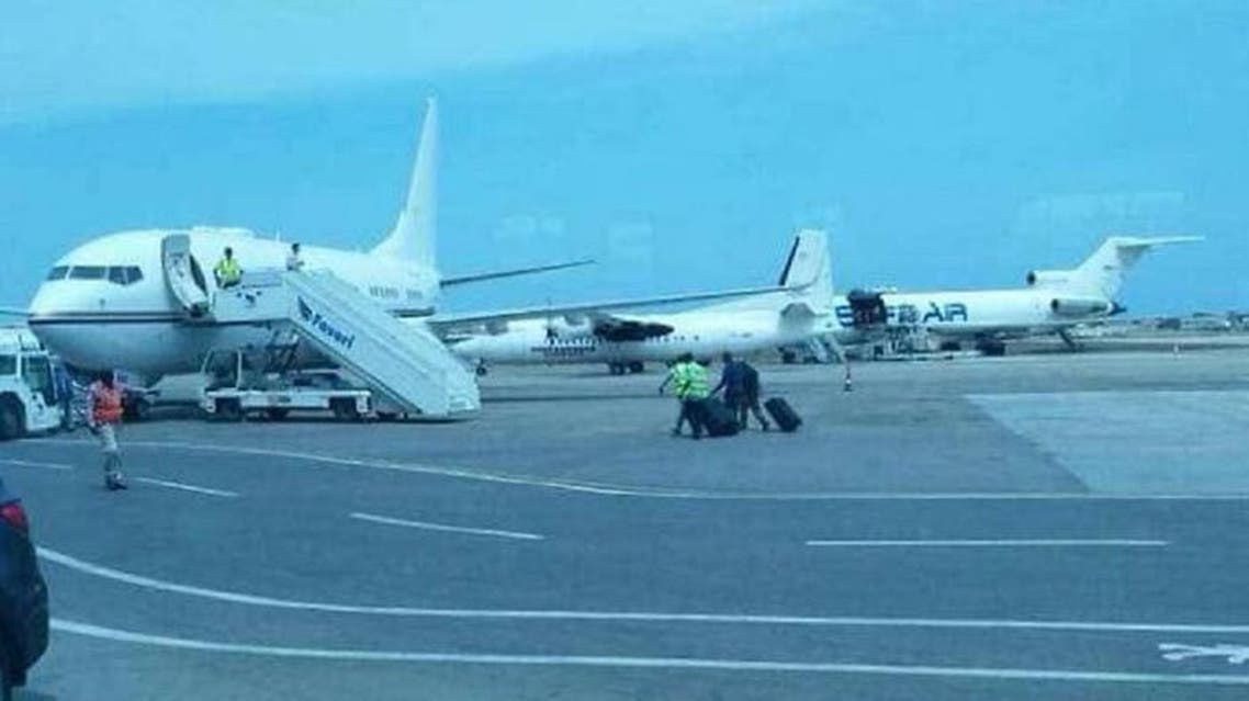 Some $9.6 million in cash was taken from the plane that had landed from the UAE at Mogadishu airport. (Supplied)