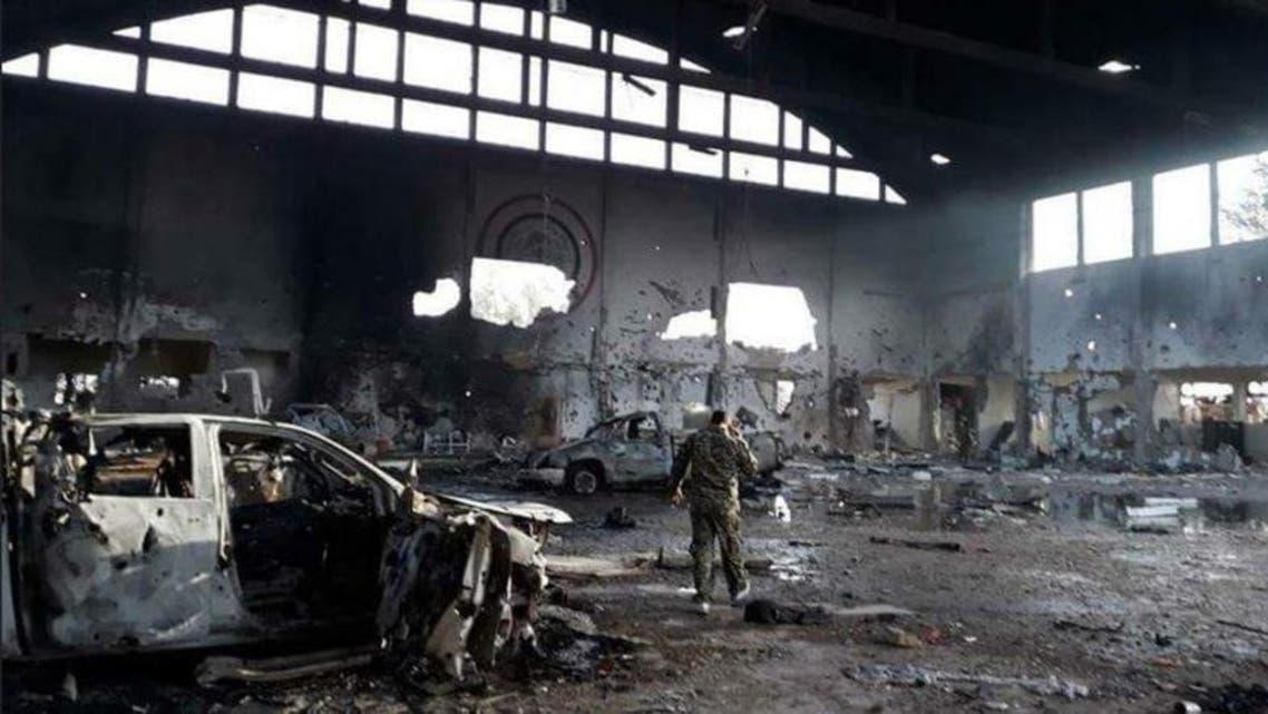 Syria T4 airbase