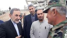 WATCH: Top Iranian Khamenei adviser in Ghouta with Assad military official