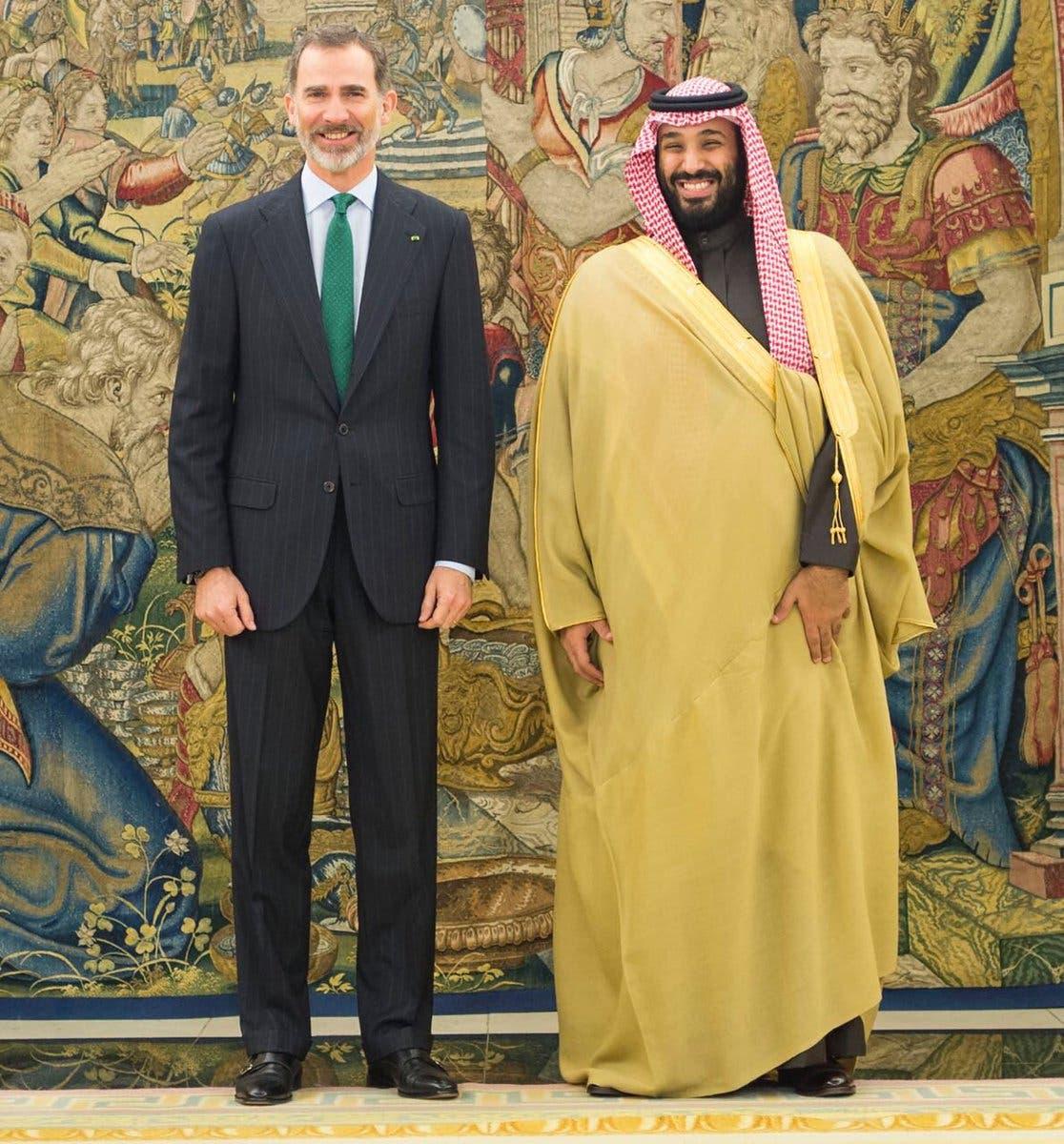ولي العهد السعودي في إسبانيا