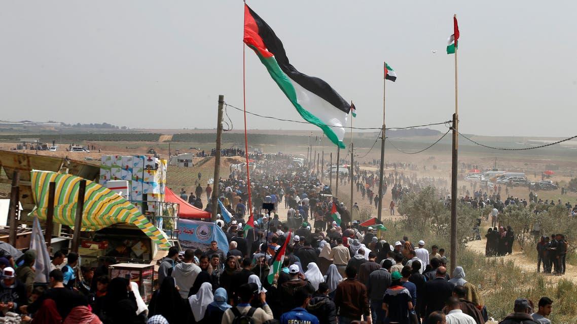 من جمعة رفع العلم في غزة
