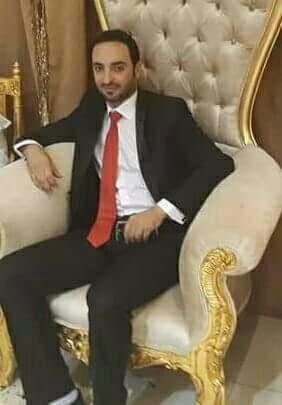عبدالله سائق المركبة يوم زفافه