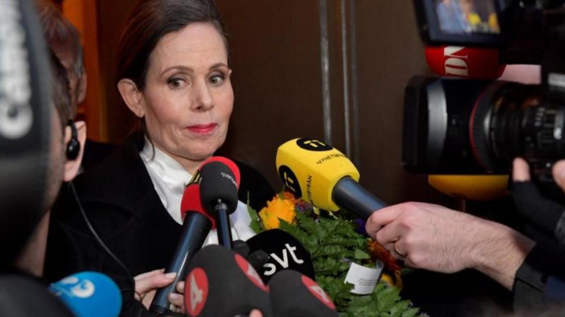 الأمين العام الدائم للأكاديمية الملكية السويدية للعلوم سارة دانيوس