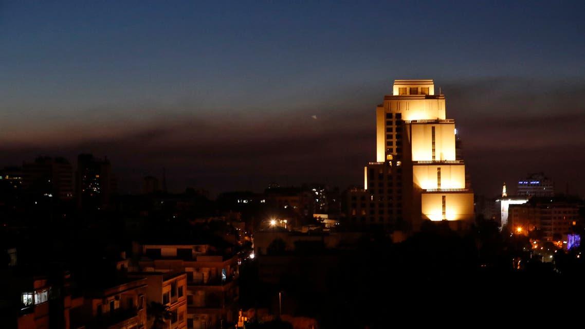 غارات على دمشق