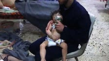 Russia claims Syria rebels 'staging chemical attack'