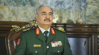قائد الجيش الليبي خليفة حفتر