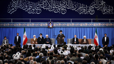 شام پر حملے : ایرانی سپریم لیڈر نے ٹرمپ ، ماکروں اور مے کی مذمت کردی