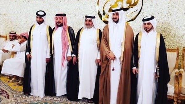 الإرهابي النعيمي يحتفل بزواجه ابنه وصحف قطر تبارك