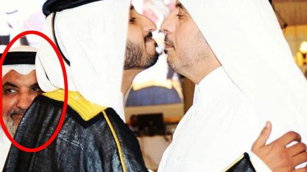 صورة لرئيس وزراء قطر مع الإرهابي النعيمي