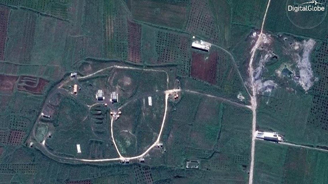 الصورة الرئيسية للضربة الثلاثية في سوريا