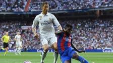 على طريقة فيغو.. أومتيتي يهدد برشلونة بورقة ريال مدريد