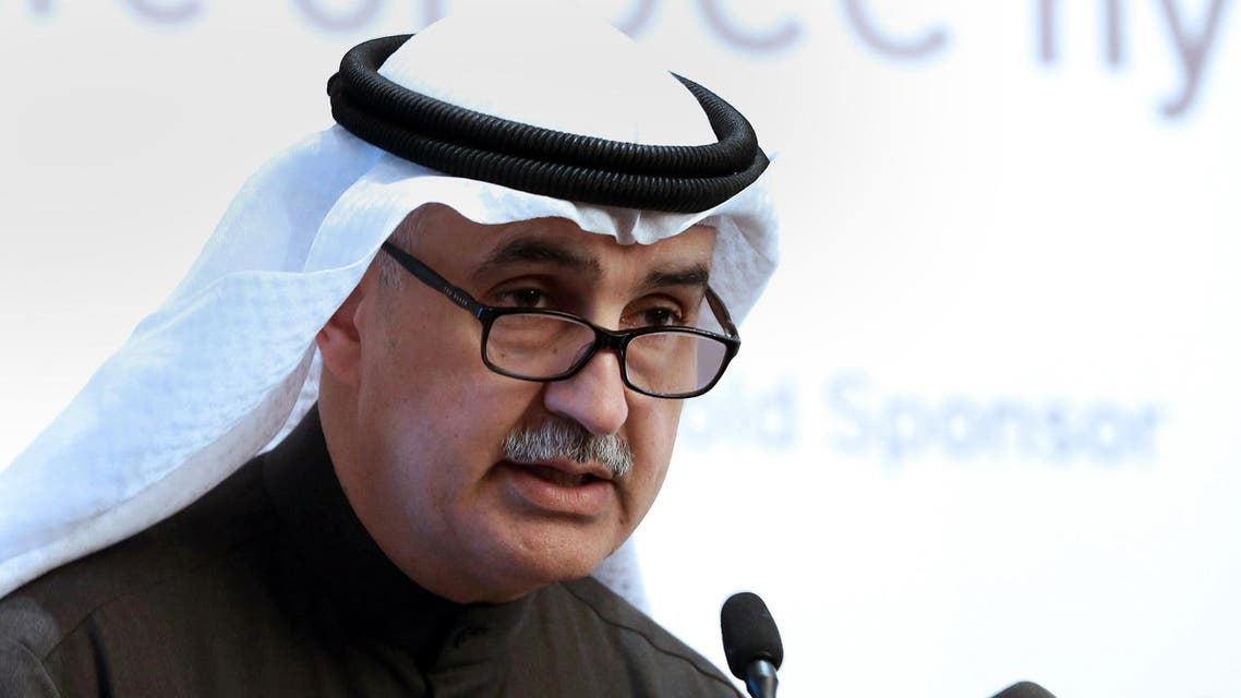 Nizar al-Adsani speaks at the Petroleum Economist GCC Energy Strategy Forum in Kuwait City on January 25, 2017. (AFP)
