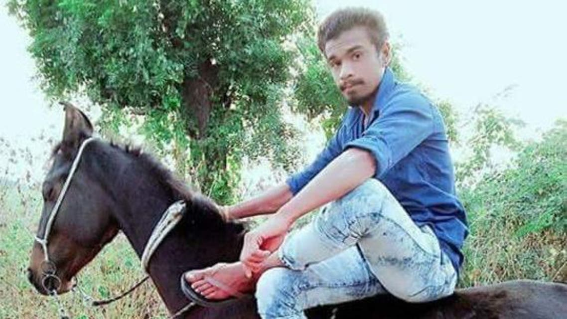 Dalit Pradeep Rathod was murdered in Gujarat for daring to ride a horse. (Supplied)