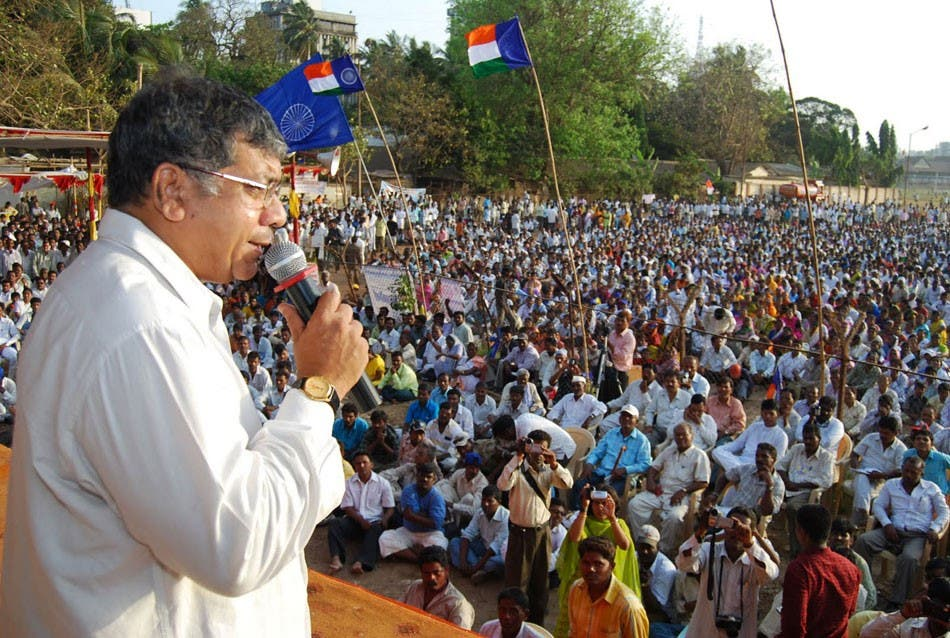 Prakash Ambedkar, grandson of the tallest Dalit, B. R. Ambedkar, has warned that India will soon become another Syria if Dalits are denied justice. (Supplied)