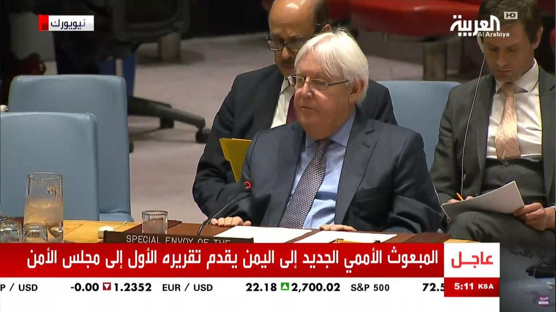 New envoy to Yemen gives his first report to UN Security Council