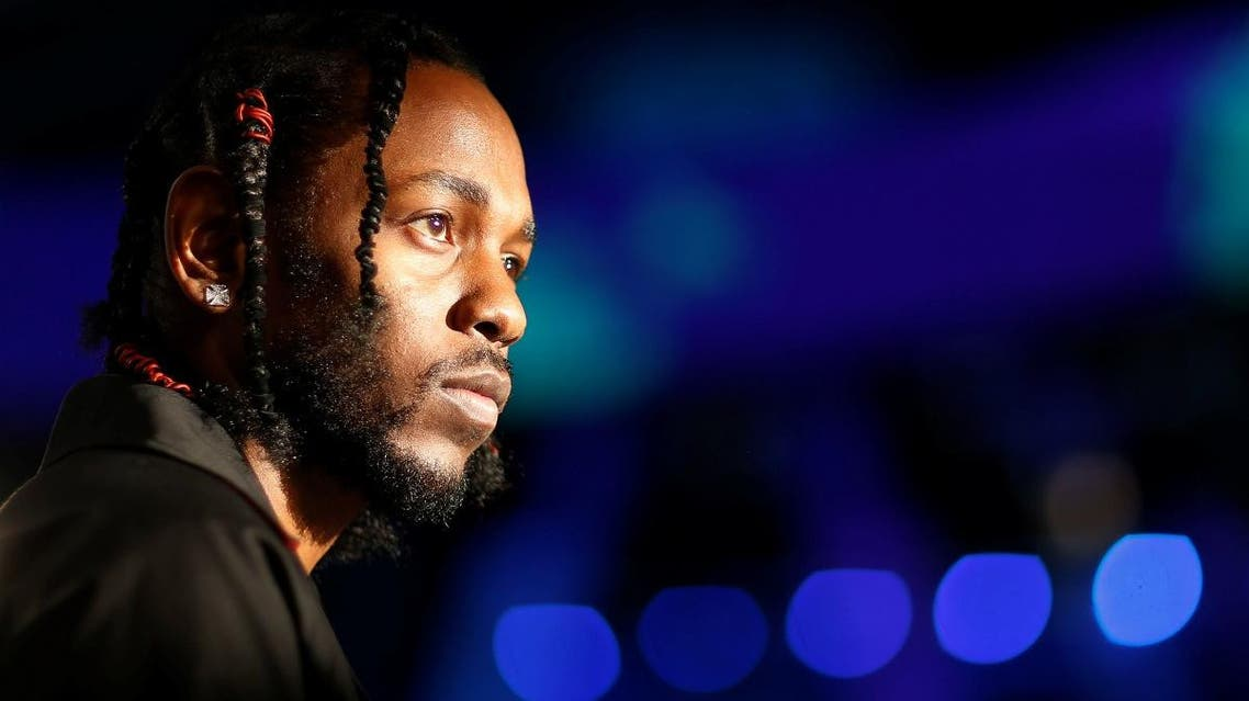Musician Kendrick Lamar arrives at the 2017 MTV Video Music Awards in Inglewood. (Reuters)