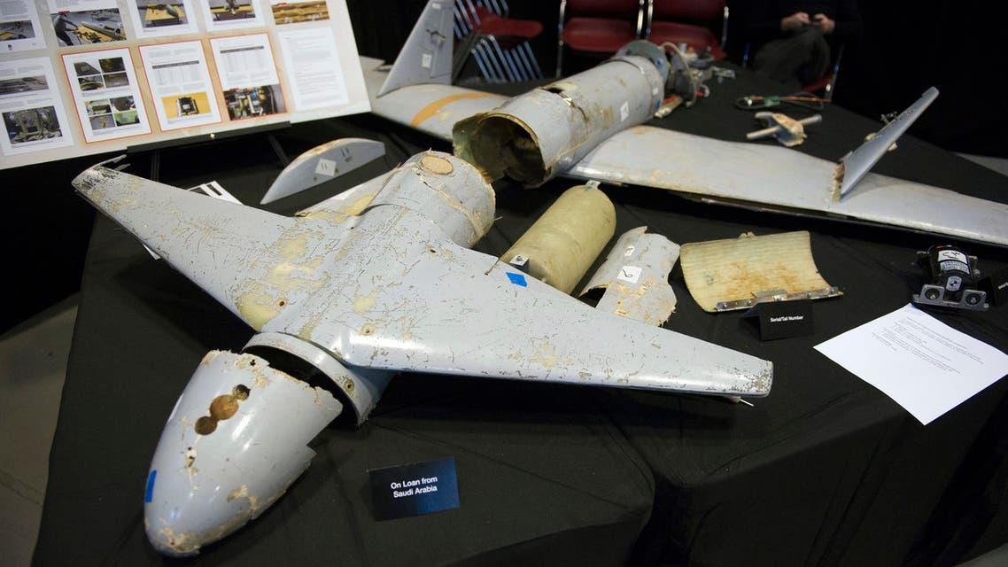 طائرة قاصف 1 الإيرانية عرضتها نيكي هيلي في  14 ديسمبر 2017