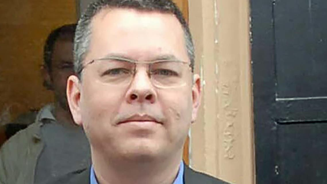 Brunson was indicted on charges of helping the group that Ankara holds responsible for the failed 2016 coup against President Tayyip Erdogan. (AFP)