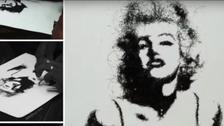 VIDEO: Meet the Indian artist who creates portraits using human hair