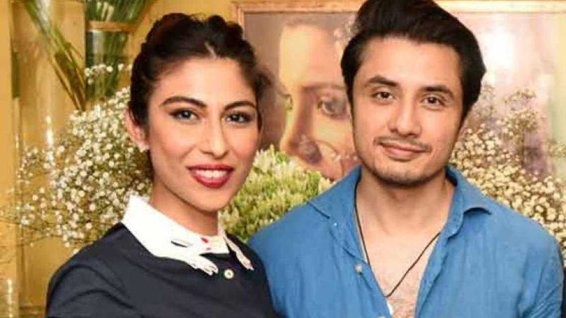 Misha shafee and Ali Zafar