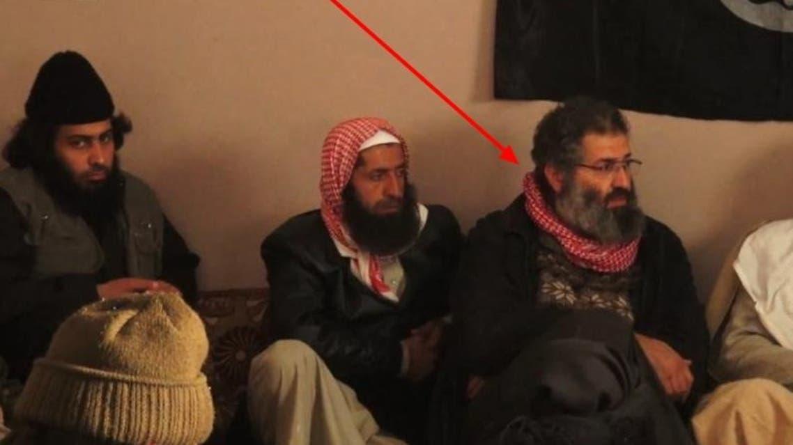 زمار خلال لقاء بين داعش وبعض العشائر