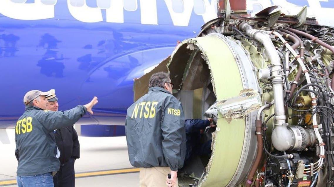 بعد مقتل مسافرة.. 5000 دولار تعويضاً لركاب طائرة أميركية