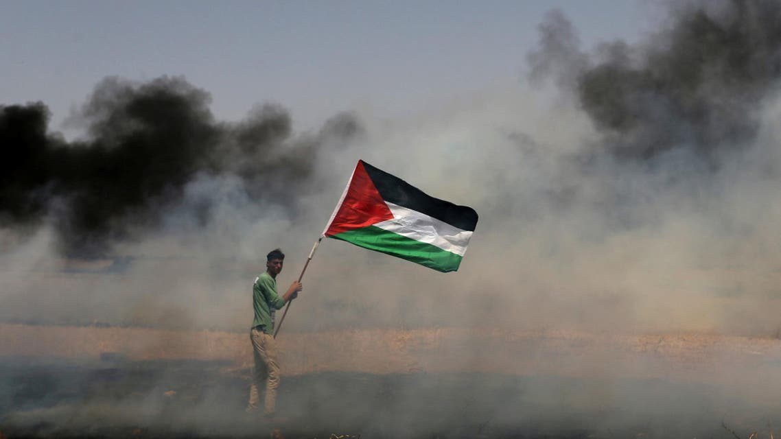 For a fourth week, several thousand people in Gaza staged protests on the border with Israel to protest its blockade