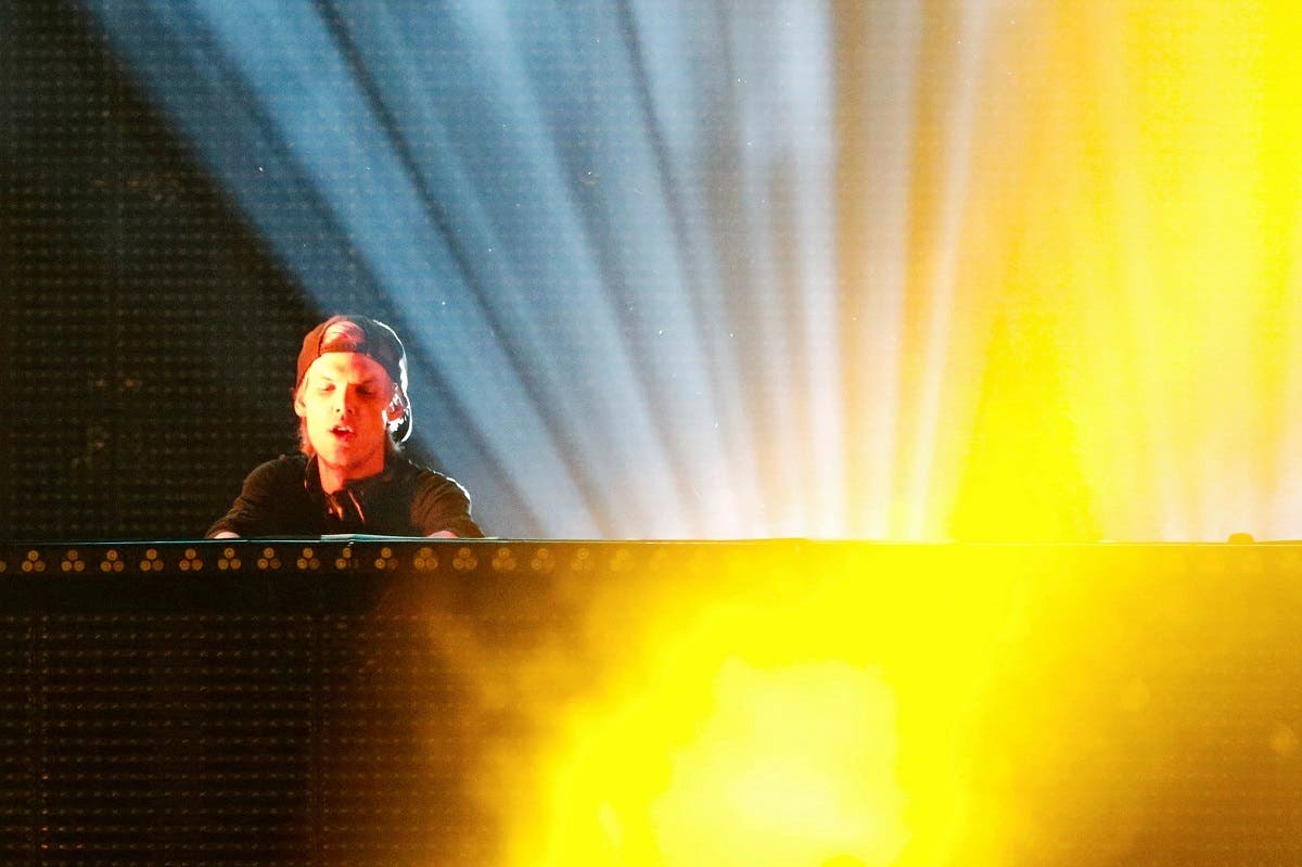 DJ Avicii performs during a concert at Brooklyn's Barclay's Center in New York. (Reuters)